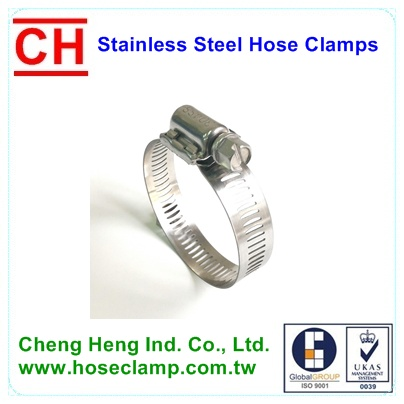 Worm Gear Hose Clamp